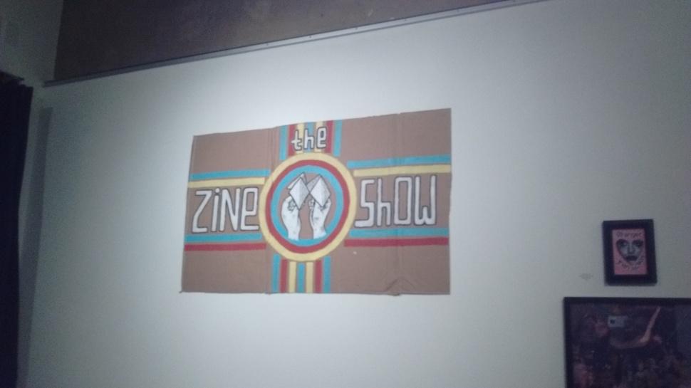 Zine Show Sign
