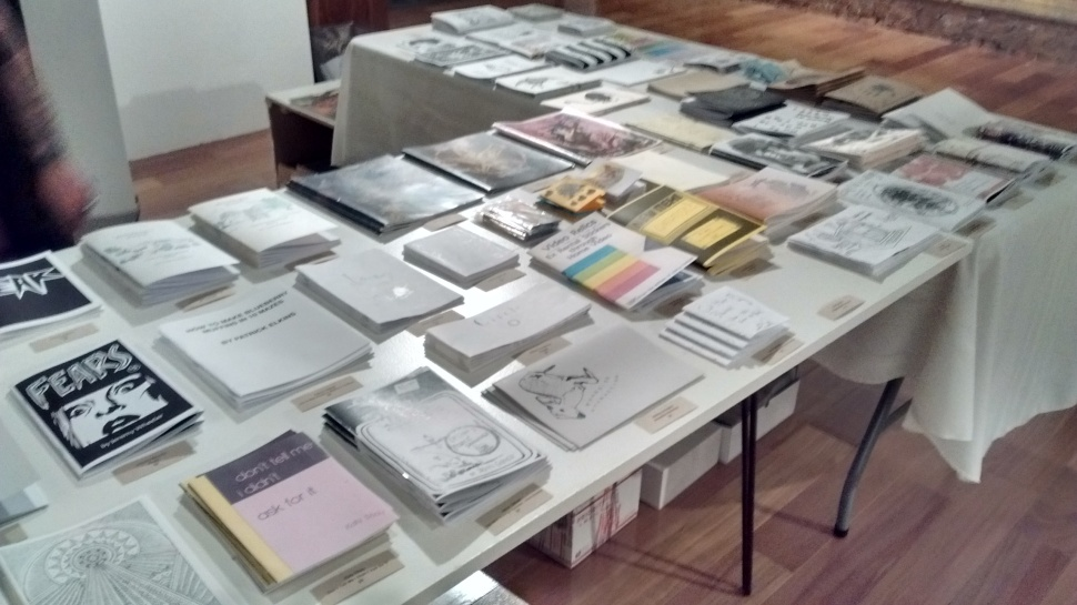 Zine Table